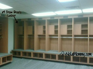 New Orleans Saints Locker Room