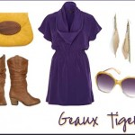 LSU Tailgating Fashion