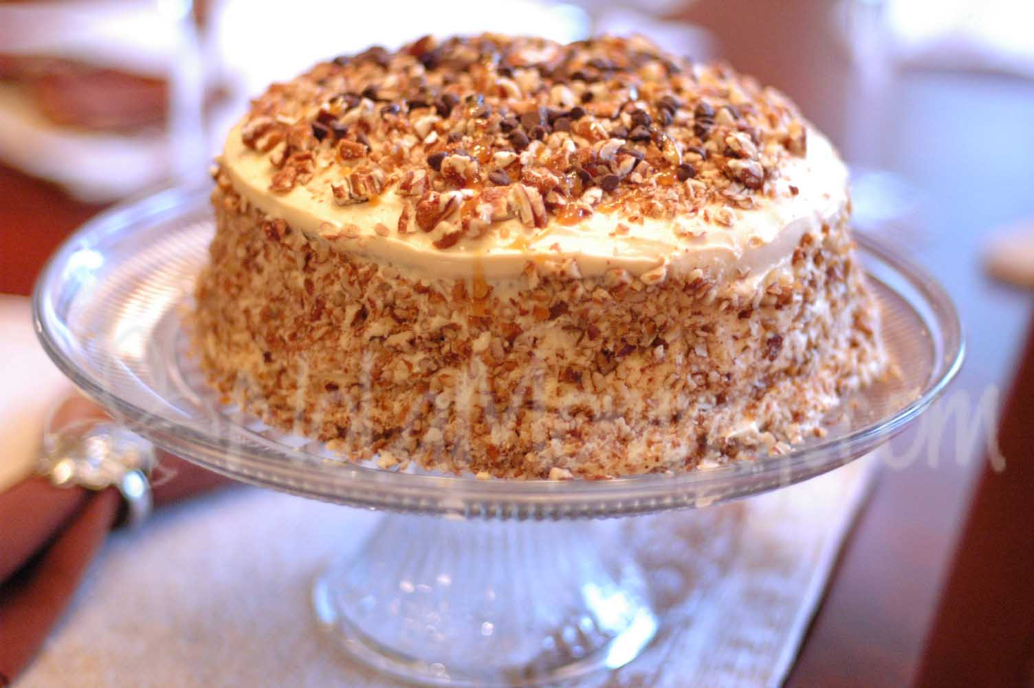 Caramel Cake Recipe — Dishmaps
