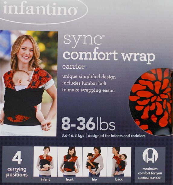 Infantino sync comfort wrap carrier instructions