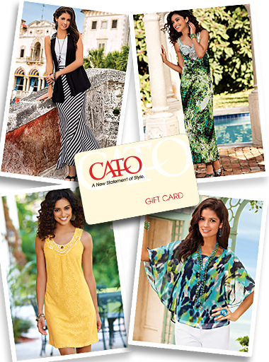 Catofashions.com Fashion Cato Fashions Gift Card