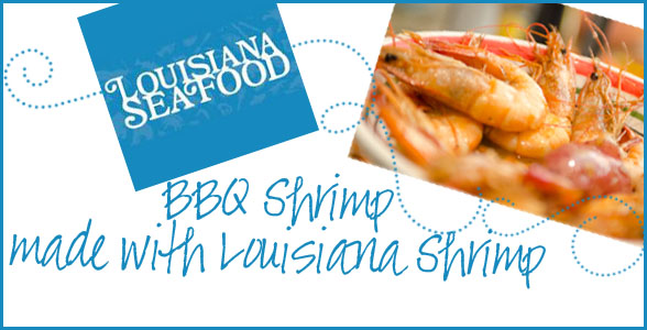 It's Shrimp Season in Louisiana! {BBQ Shrimp Recipe}