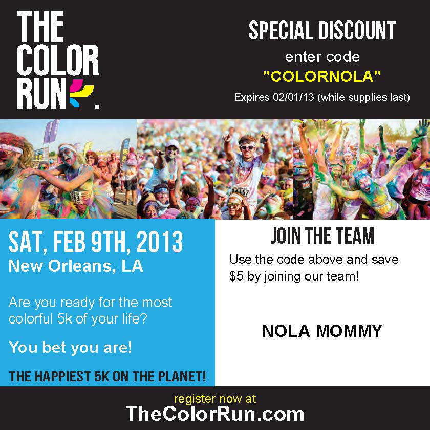 Nola-Mommy Color Run