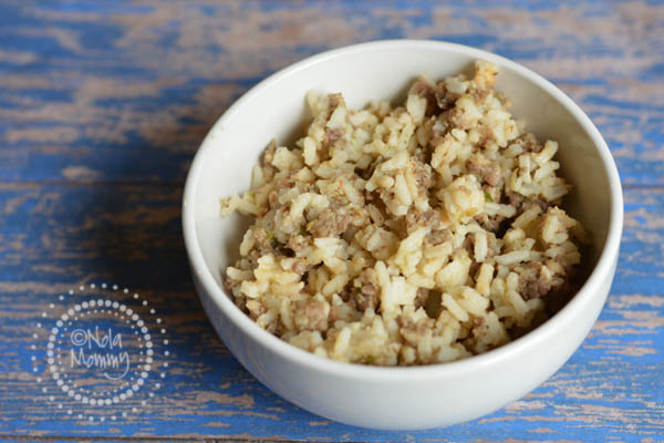Jimmy Dean Sausage Dirty Rice {Recipe} - NOLA Mommy