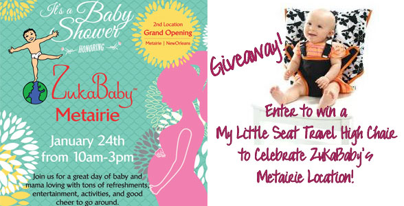 ZukaBaby Boutique Opening in Metairie 1/24 {Giveaway}